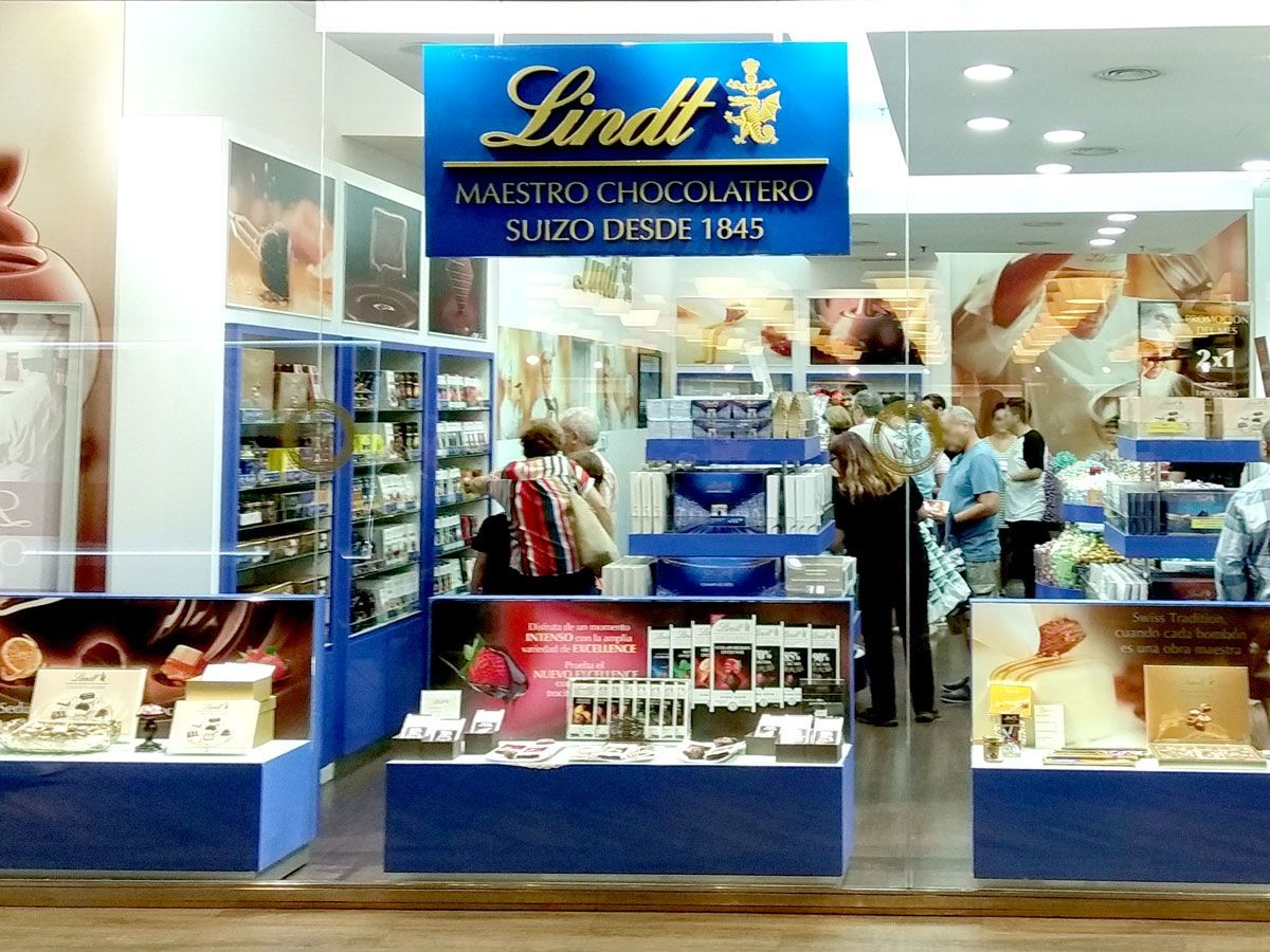 Outlet de chocolates Lindt - The Style Outlets - Getafe