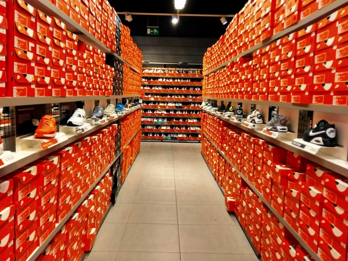 Nike Factory, los centros outlet de nike Todo Outlets