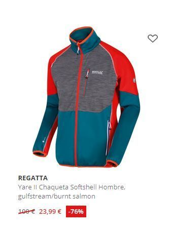 Softshell en outlet de Campz